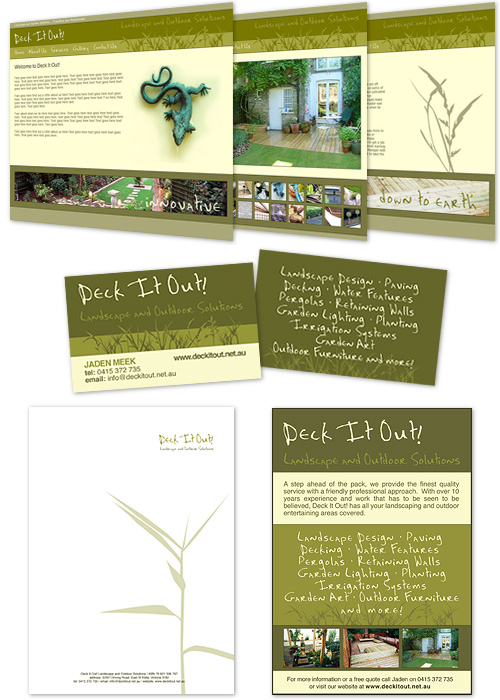 examples of deck it out! brand